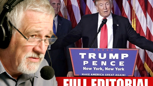Article image for NEIL MITCHELL: The message to politicians of the world as Trump is elected US President