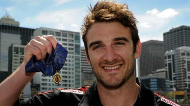 Article image for Jobe Watson hands back 2012 Brownlow Medal