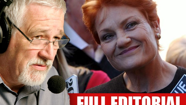 Article image for Neil Mitchell takes aim at Pauline Hanson over 'round them up' comment