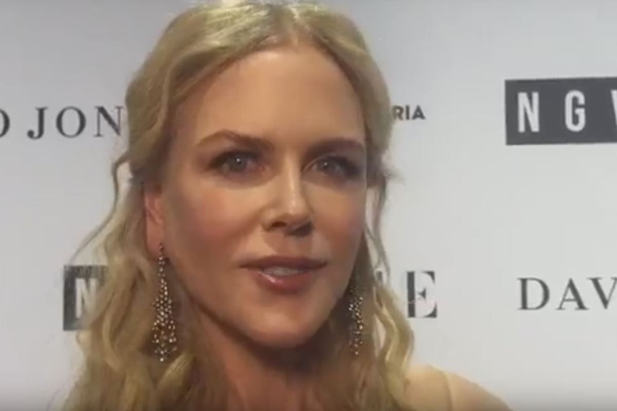 Article image for Exclusive video: Nicole Kidman in Melbourne for NGV gala
