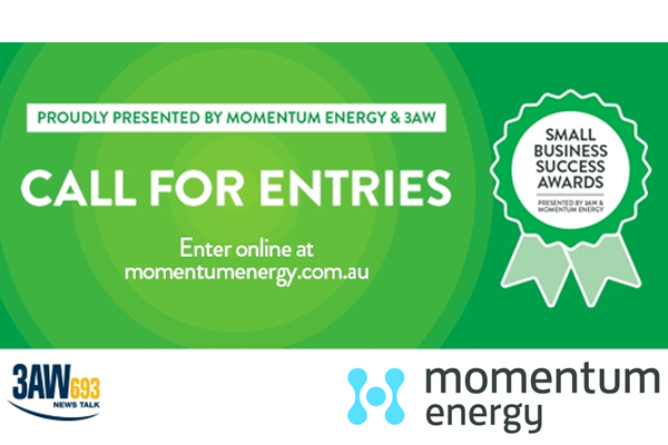 Article image for 3AW Momentum Energy Small Business Success Awards