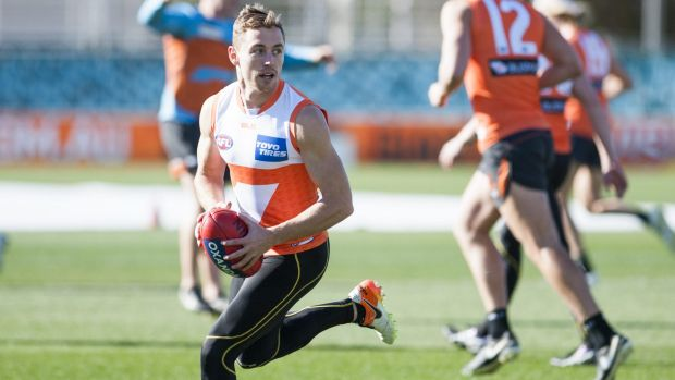 Article image for GWS rules out livewire forward due to injury