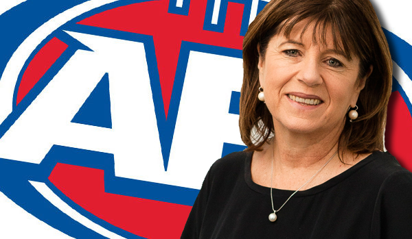 Article image for Caroline Wilson 'worried' by AFL CEO comments over sexual harassment resolution