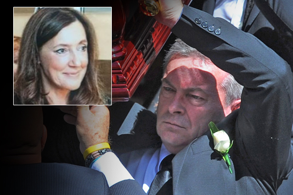 Article image for Borce Ristevski sentenced to nine years in prison for killing wife Karen