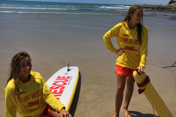 Article image for Teenage girls hailed as heroes after rescue on Victoria's surf coast