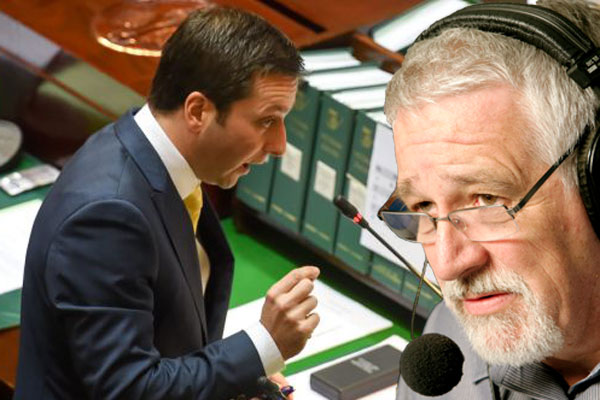 """Article image for """"It's going too far"""": Neil Mitchell gives Matthew Guy a serve on his latest policy"""
