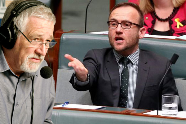 """Article image for """"Disgraceful coward"""": Adam Bandt goes to ground"""