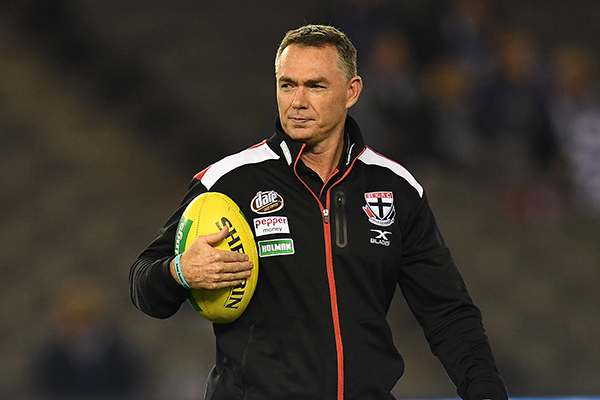Article image for One club leaves St Kilda coach 'fearful' post JLT