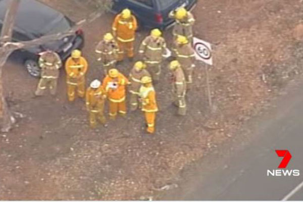 Article image for Gas pipe explosion leaves two injured in Bacchus Marsh