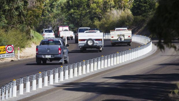 Article image for Road safety barrier program in doubt under Matthew Guy