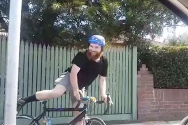 Article image for Bearded bicycle bandit accused of smashing windscreen in Melbourne's north