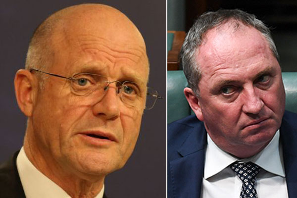 Article image for 'Finished': Senator David Leyonhjelm says the end is in sight for Barnaby Joyce