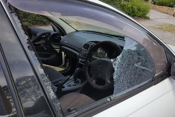 Article image for 'It looks like a war zone': Residents angry after more than 30 cars targeted by vandals overnight
