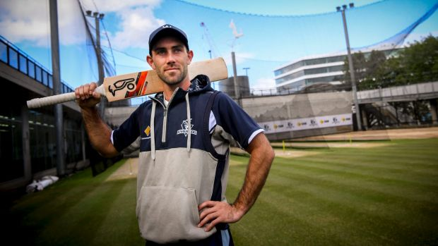 Article image for Glenn Maxwell brings up his ton by hitting the winning runs for six!
