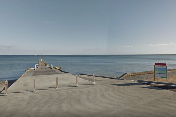 Article image for Body found partially submerged in waters near Frankston