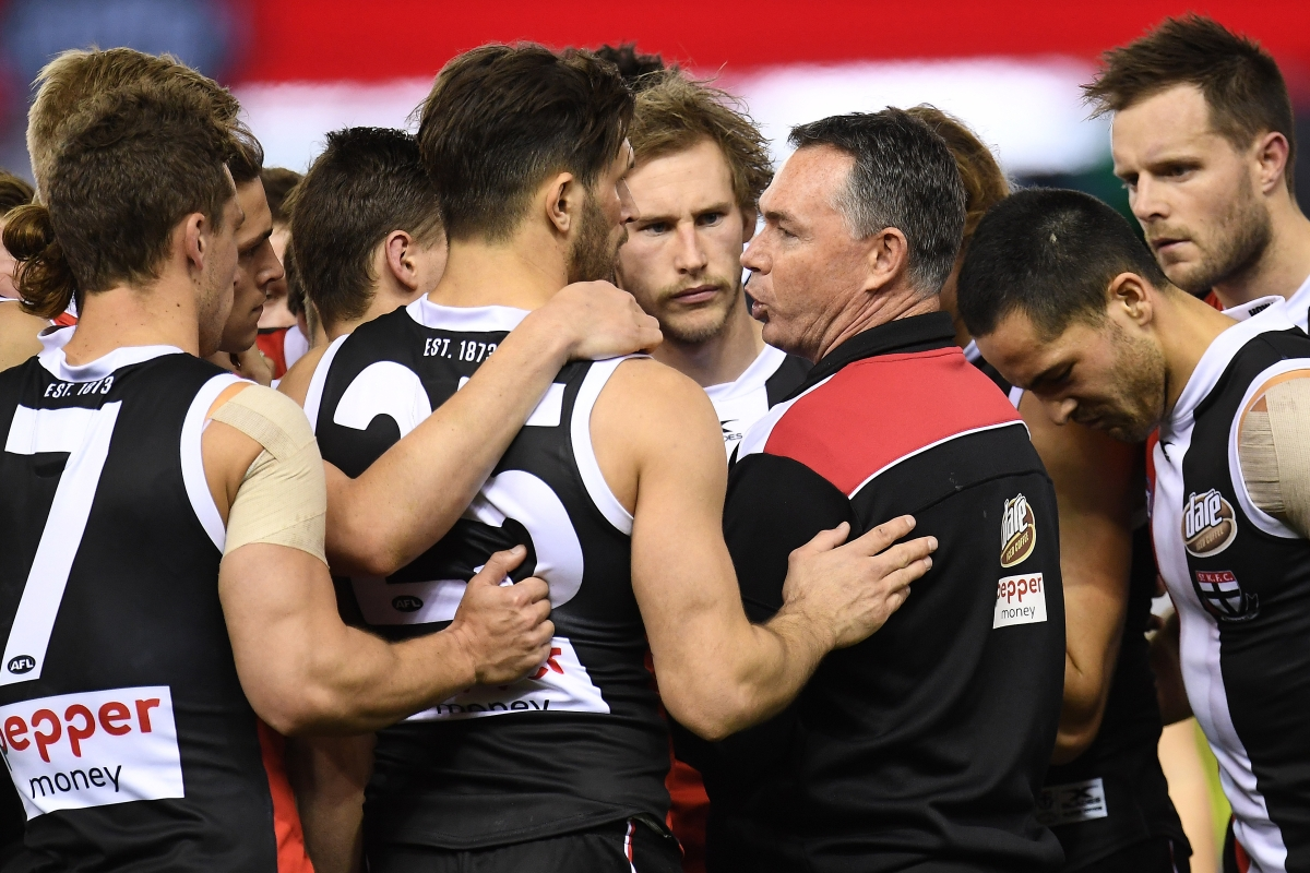 Article image for Matthew Lloyd and Gerard Healy and their worry about St Kilda