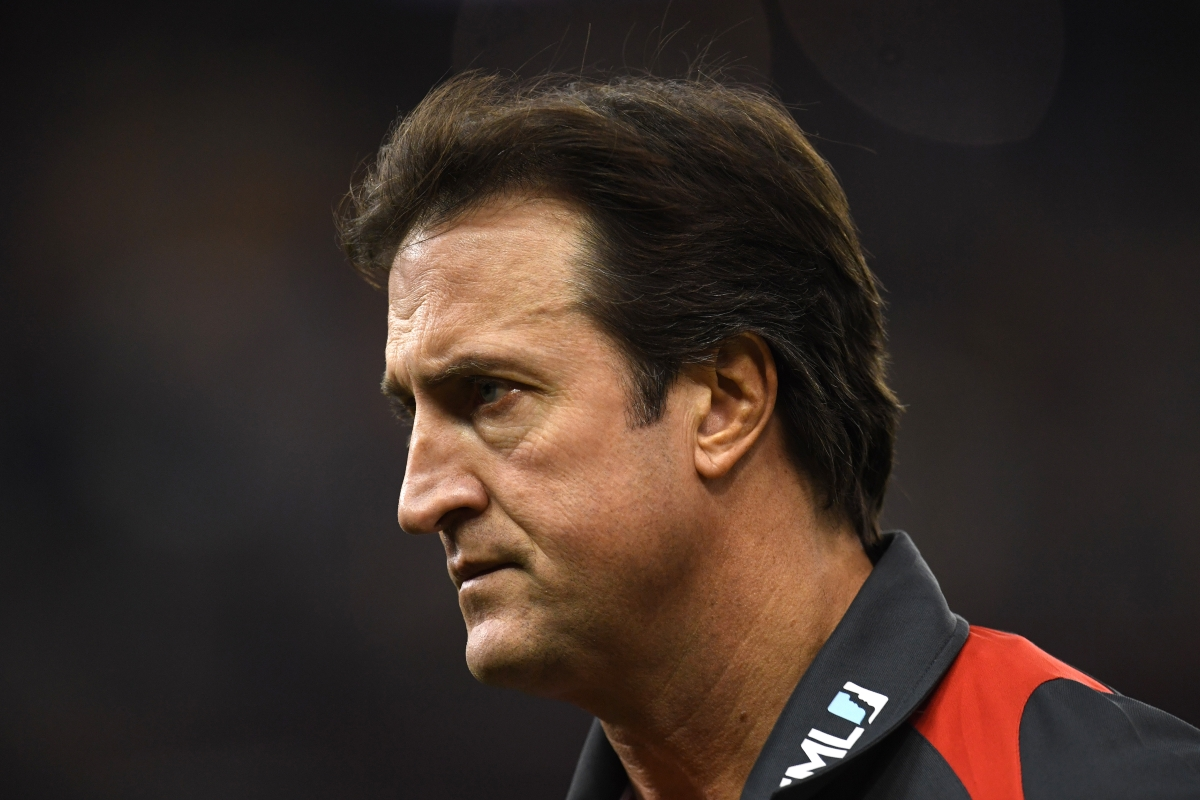 Article image for Reporter stands by story that left Luke Beveridge fuming
