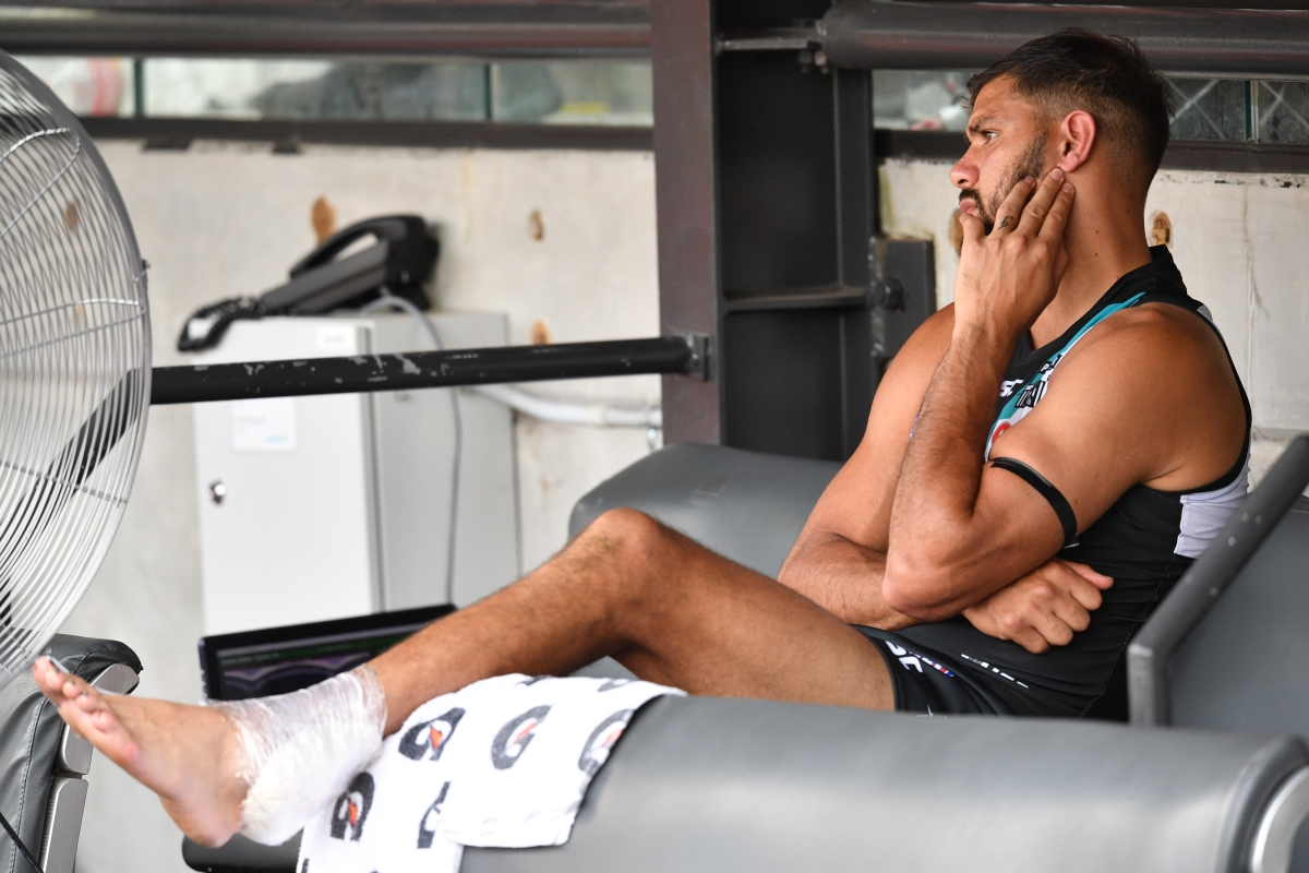 Article image for Port Adelaide dealt hefty injury blow