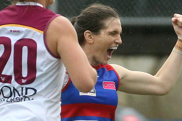 Article image for Bulldogs claim AFLW Premiership in Grand Final thriller