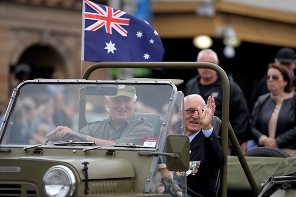 Article image for Old military vehicles ousted from ANZAC Day parade