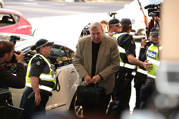 Article image for Lawyers for George Pell take aim at Victoria Police