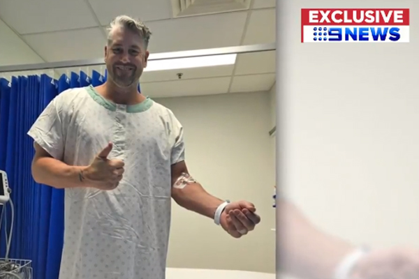 Article image for Former AFL star shares his 'staggering' medical story