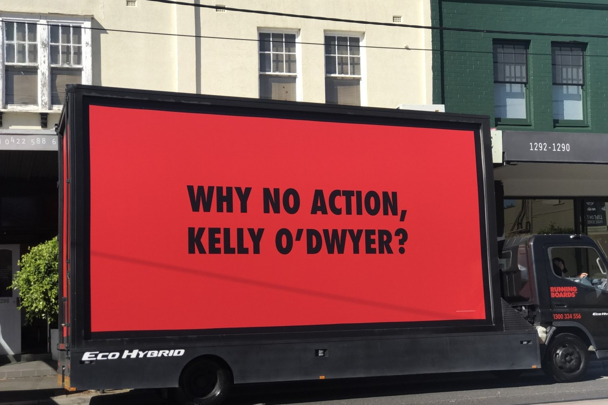 Article image for Why the ACTU is putting pressure on Kelly O'Dwyer