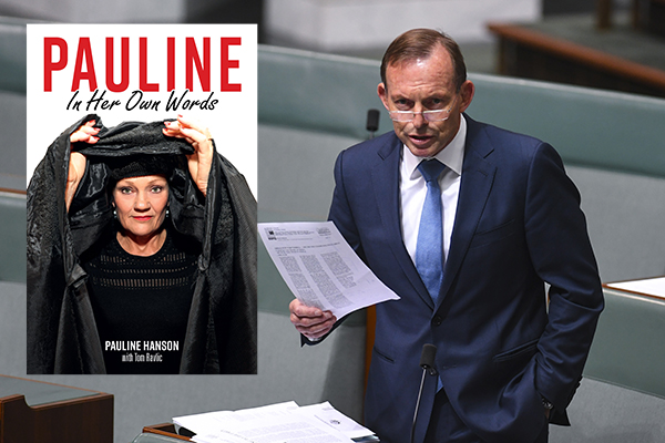 Article image for Pauline: Tony Abbott would come back a 'stronger and better' Prime Minister