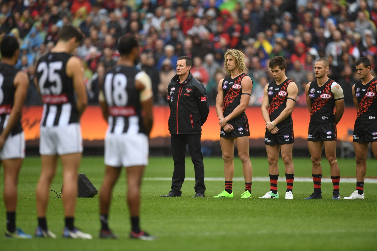 Article image for Collingwood demolishes Essendon in front of bumper Anzac Day crowd