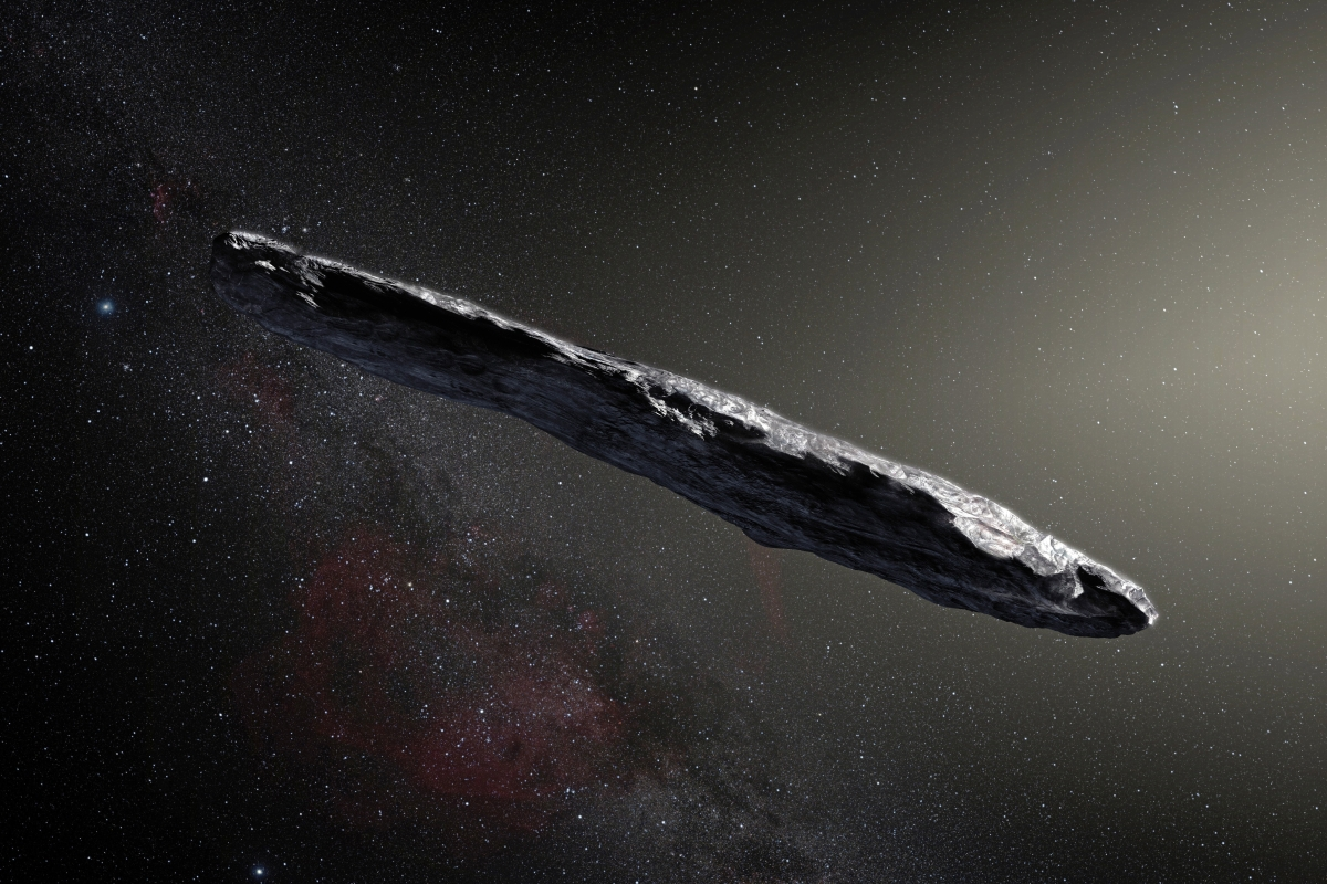 Article image for A 'space rock from another star system' entered our solar system last year