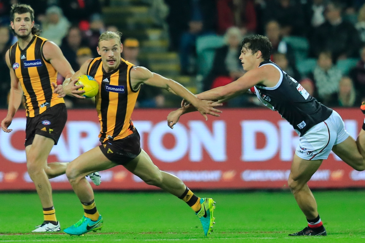 Article image for Hawthorn beats St Kilda by 35 points in Launceston