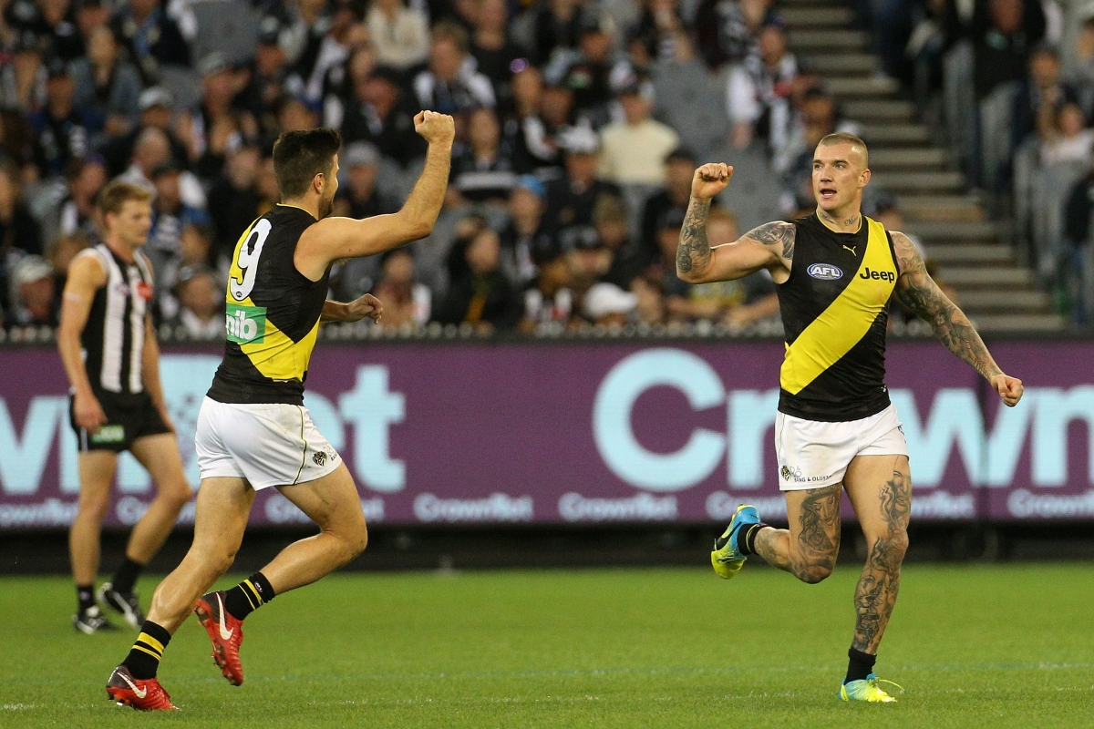 Article image for Richmond reclaims top spot after over-running the Magpies