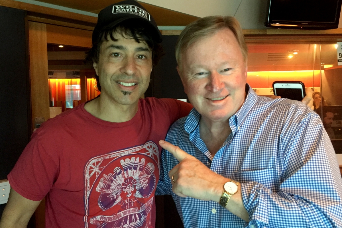 Article image for Arj Barker's show We Need To Talk isn't as serious as it sounds