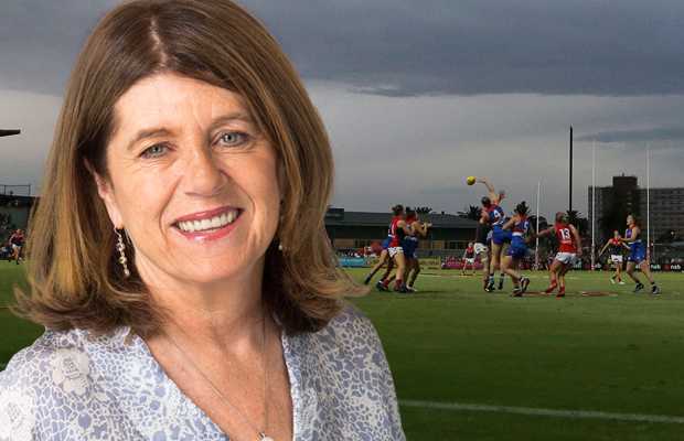 Article image for Caroline Wilson says frustration is growing among women in AFL