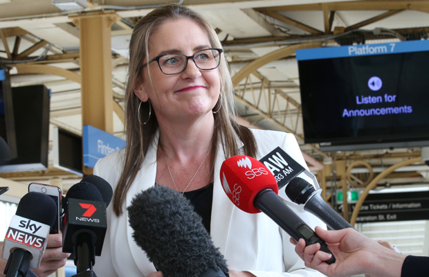 Article image for Public Transport minister welcomes funding, but says project must stack up