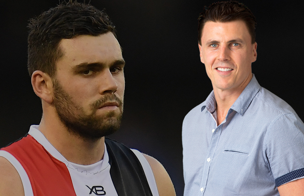 Article image for Lloyd clarifies tense exchange on Footy Classified