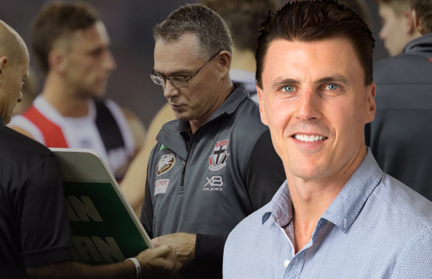 Article image for Matthew Lloyd 'very, very concerned' about St Kilda