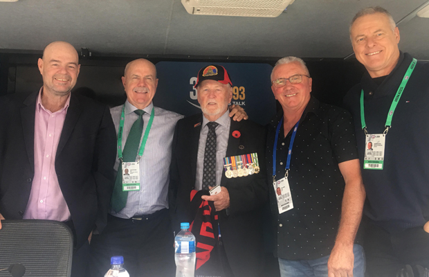 Article image for Returned soldier Vince opens up on 3AW Football