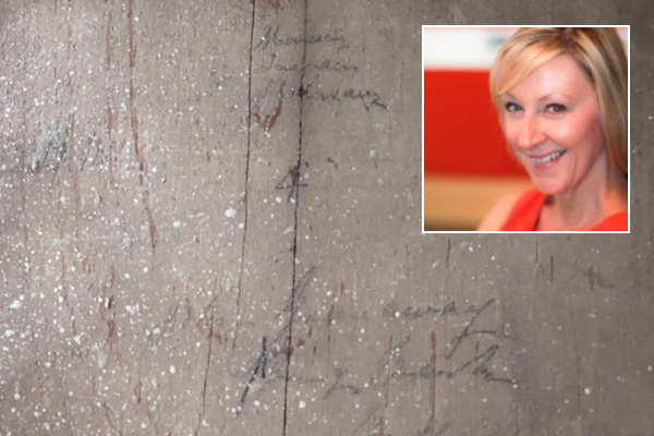 Article image for Dee Dee discovers 170-year-old mystery message