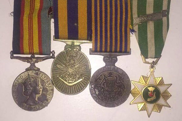 Article image for Geelong woman devastated after losing her father's medals on Anzac Day