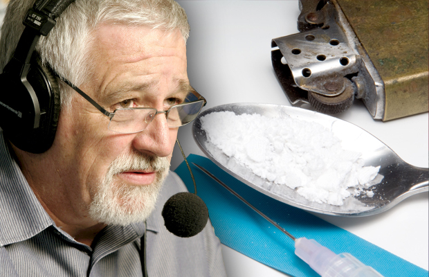 Article image for 'It's madness!': Neil Mitchell clashes with minister over injecting rooms ice backflip