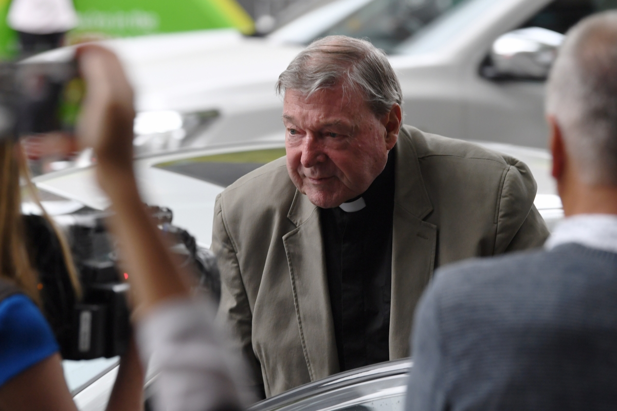 Article image for George Pell to stand trial over historical sexual offence charges