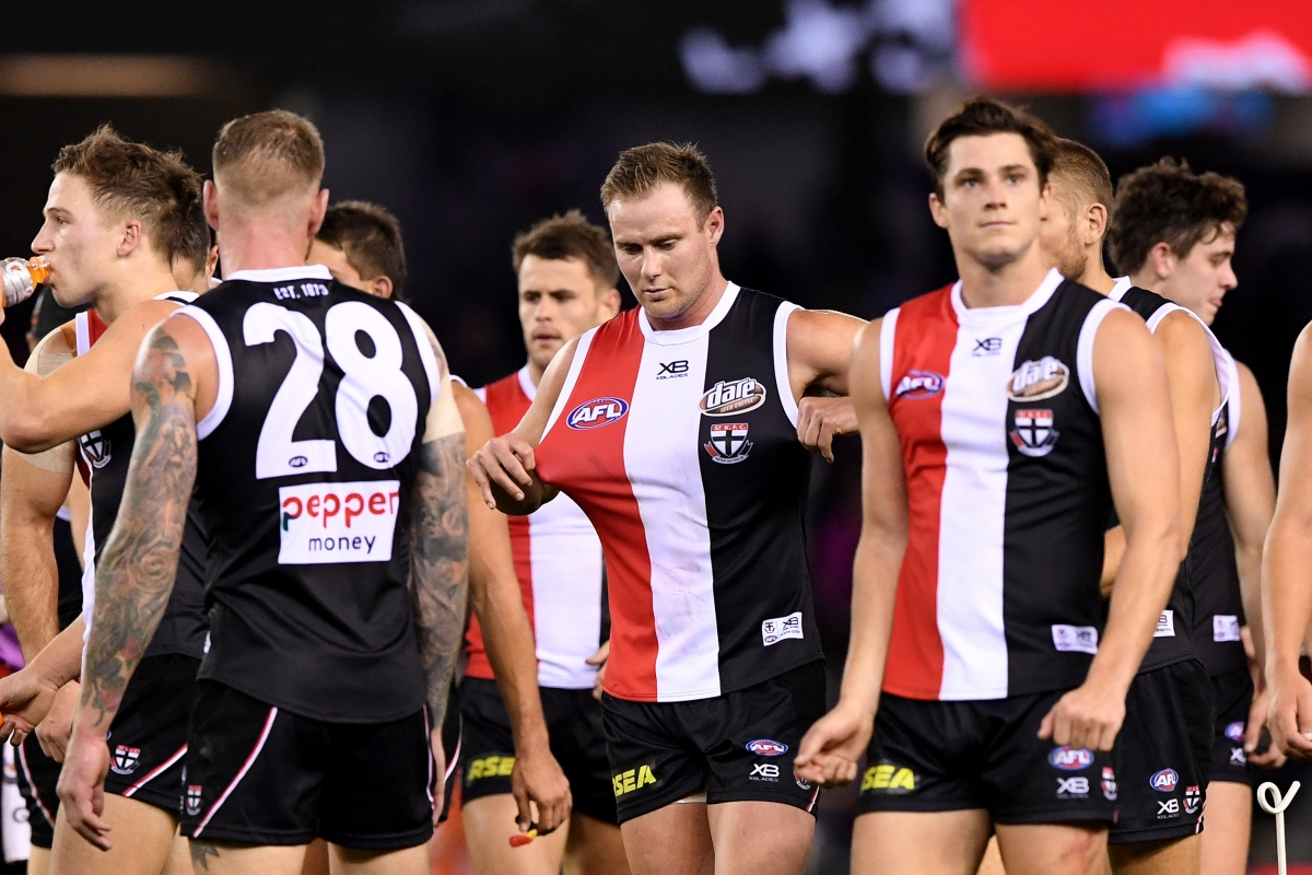 Article image for Grant Thomas REALLY doesn't rate St Kilda's playing list