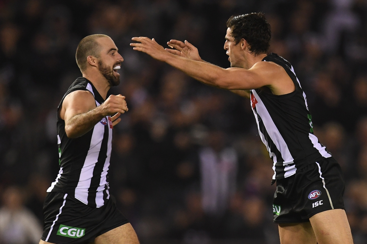 Article image for Bulldogs goalless after half time as Collingwood roars to victory