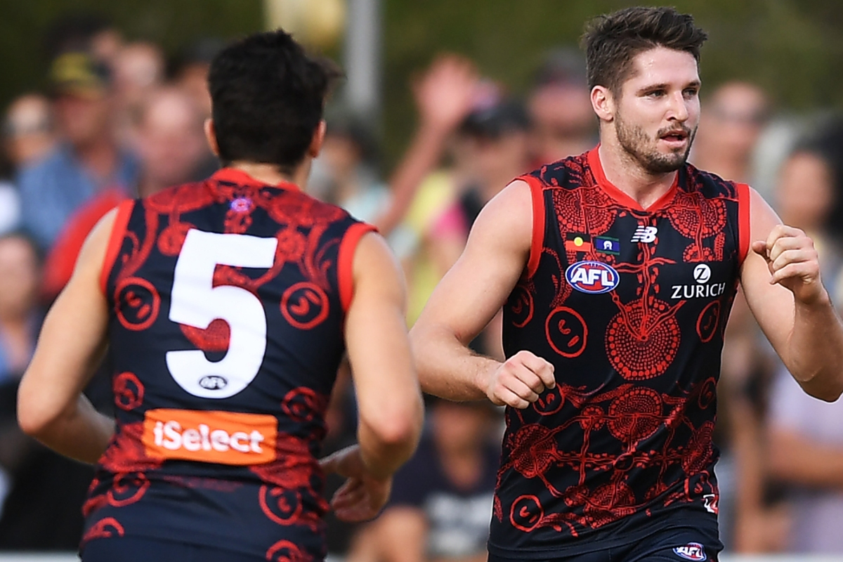 Article image for Dee-molished! Melbourne thumps Adelaide in Alice Springs