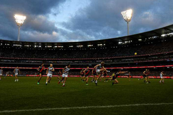 Article image for Gerard Healy asks why footy fans are switching off as TV ratings dive