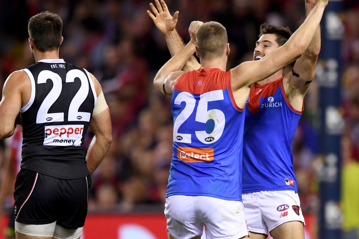 Article image for Demons fire past Saints to keep touch with the Top 8