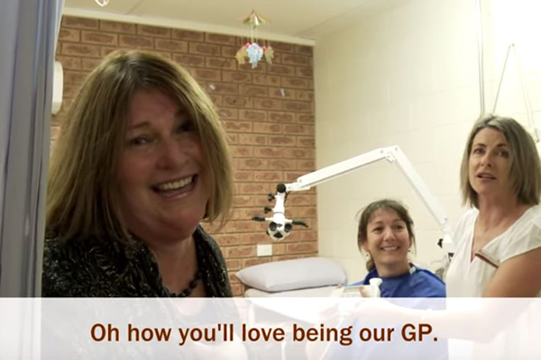 Article image for Country town community makes music video in attempt to recruit GP