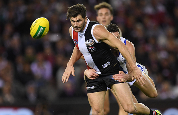 Article image for St Kilda midfielder ruled out for the season