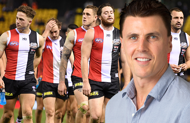Article image for Matthew Lloyd shoots down St Kilda trade suggestion on Sportsday